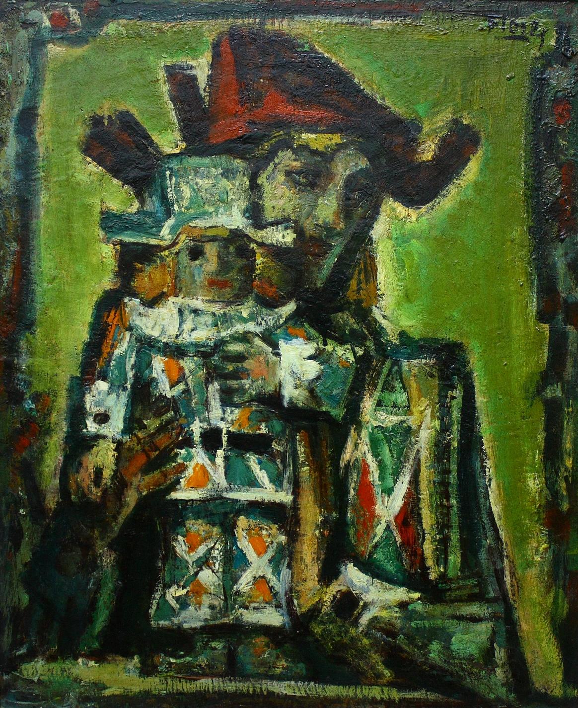 Pedro Flores. Murcia, 1897- París, 1967. Oleo sobre lienzo 45 x 55.