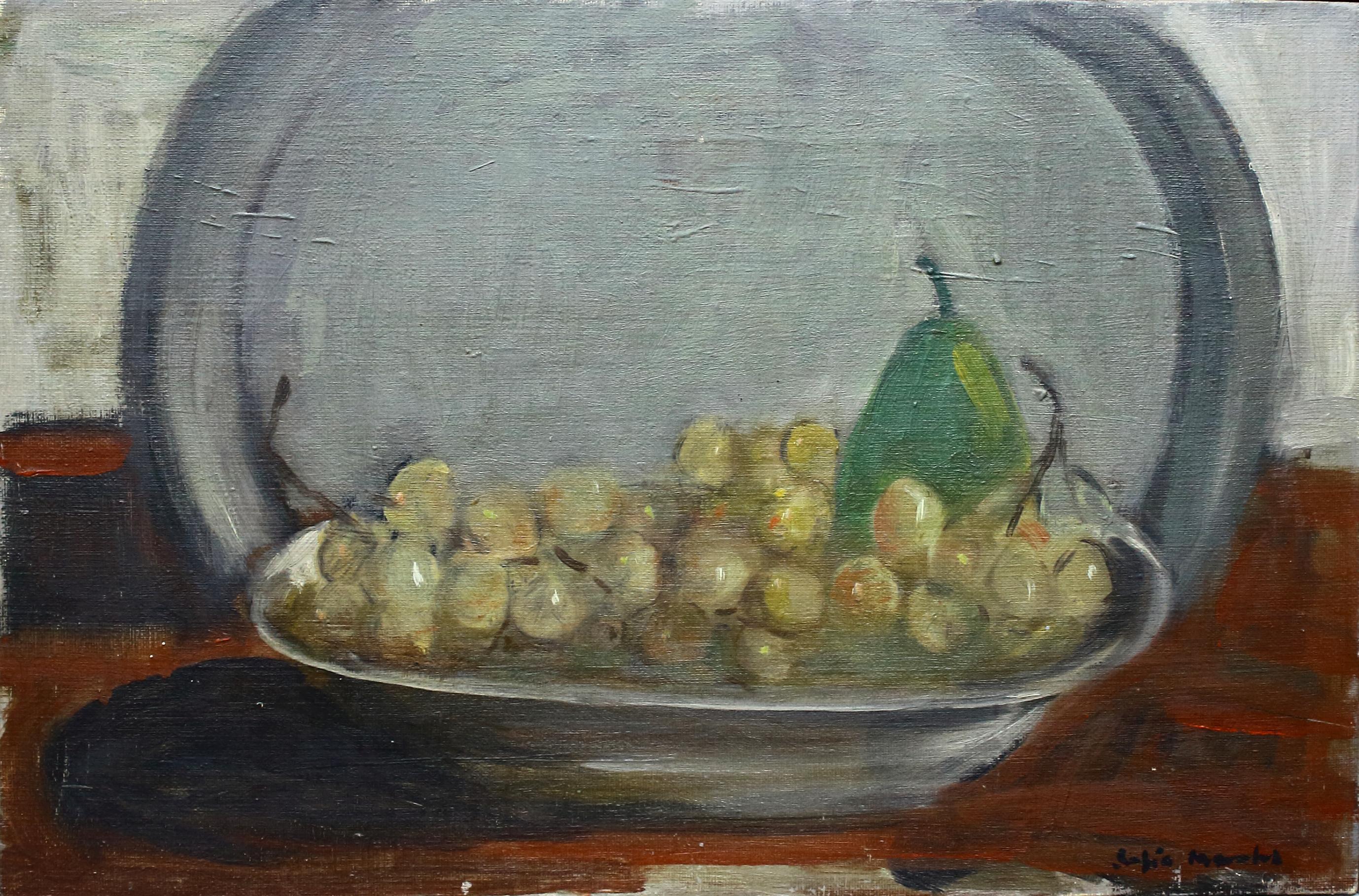 Sofia Morales (1917 – 2005). Oleo sobre lienzo. Medidas de 27 x 41