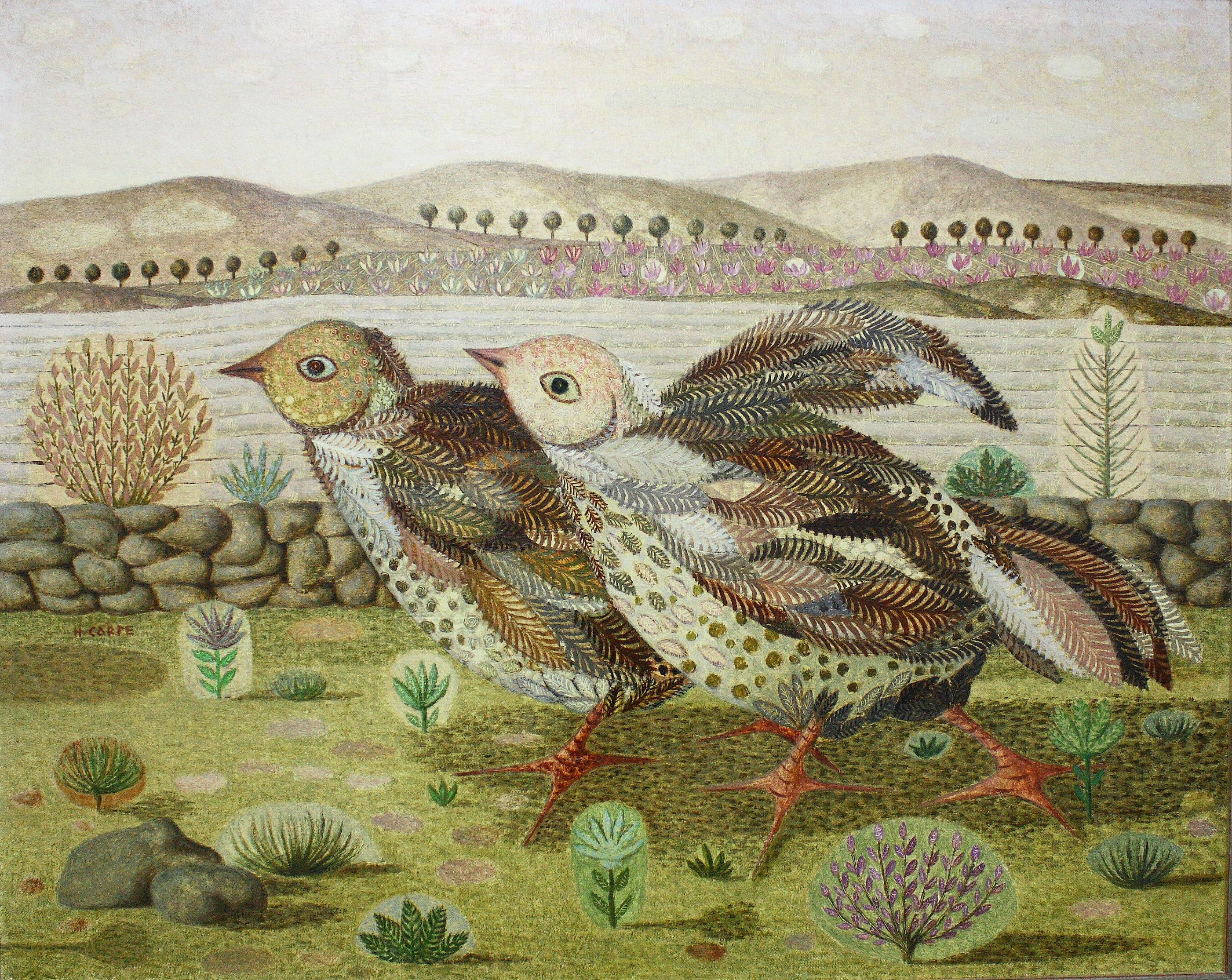 Hernández Carpe. Murcia 1923 – 1977. Oleo sobre lienzo. Medidas 81 x 100