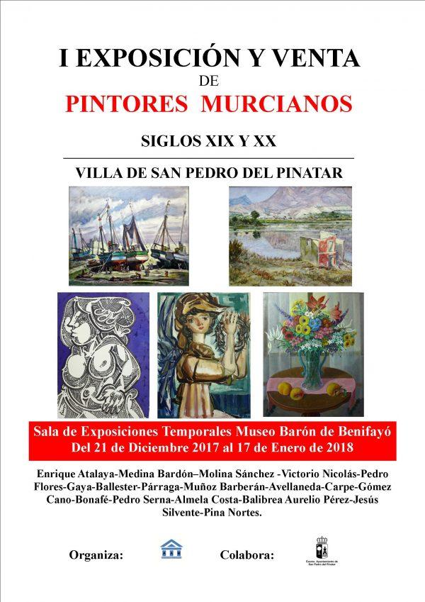 I EXPOSICION Y VENTA DE ARTE MURCIANO