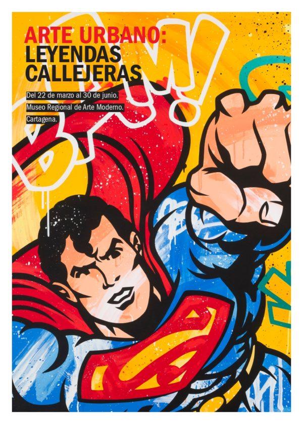 MARZO 2019.EXPOSICION INTERNACIONAL DE ARTE URBANO: LEYENDAS CALLEJERAS